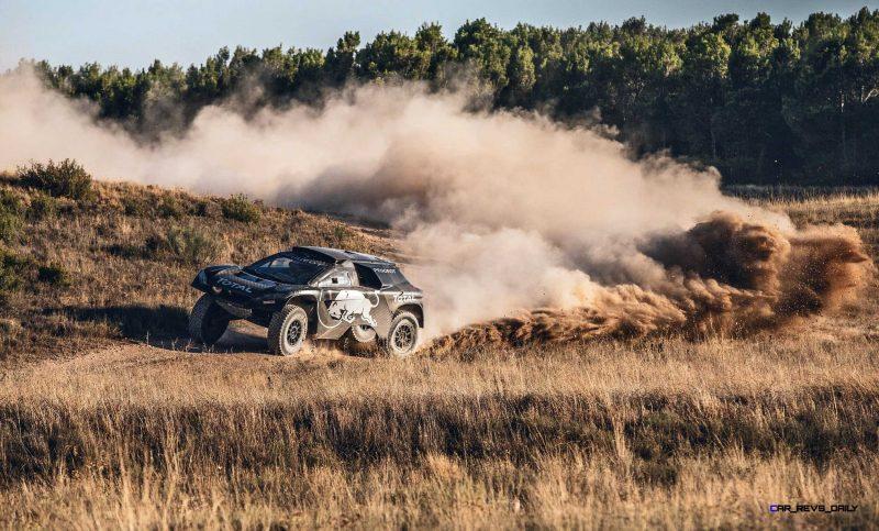 2016 Peugeot DKR16 Rally Racer 16