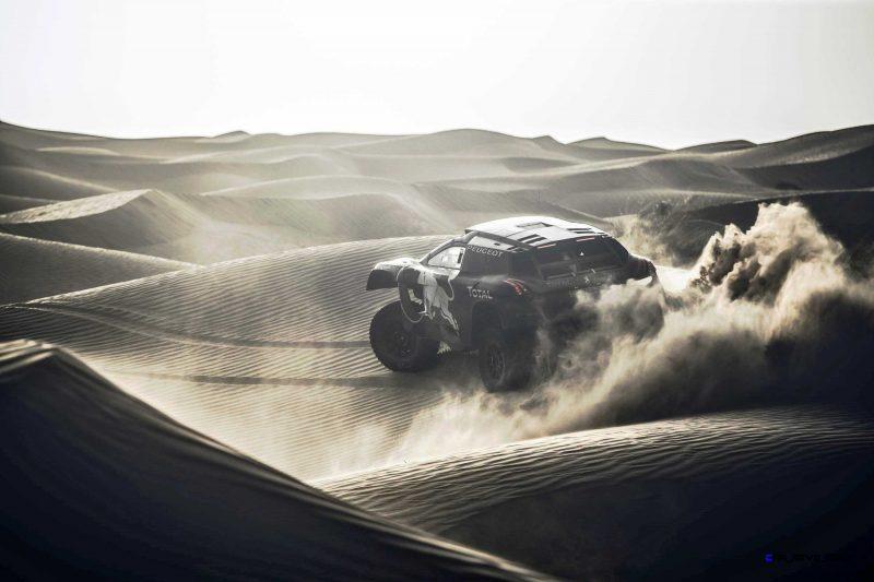 2016 Peugeot DKR16 Rally Racer 2