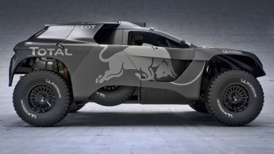 PEUGEOT 2008 DKR16 // Red Bull Media House // P-20150921-00486 // Usage for editorial use only // Please go to www.redbullcontentpool.com for further information. //