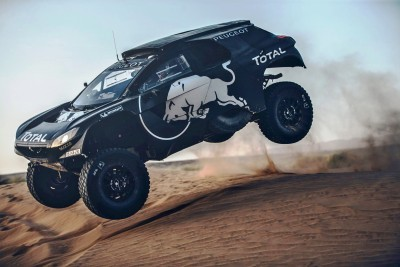 2016 Peugeot DKR16 Rally Racer 5