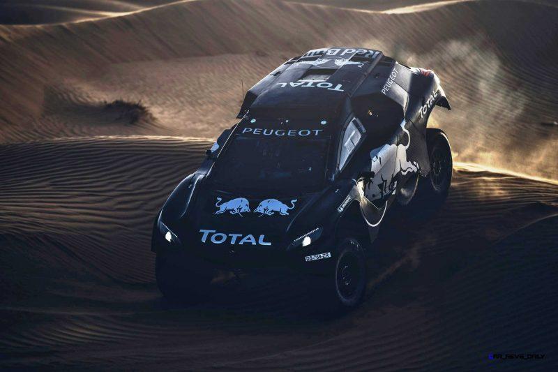 2016 Peugeot DKR16 Rally Racer 6