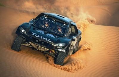 2016 Peugeot DKR16 Rally Racer 7