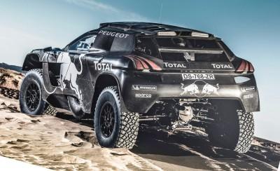 2016 Peugeot DKR16 Rally Racer 8