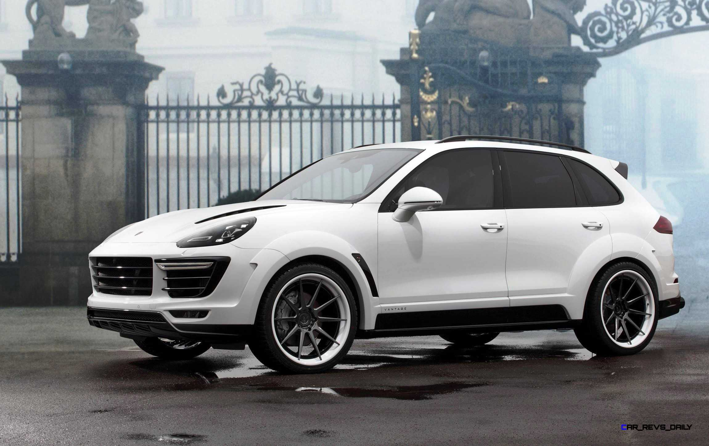 2016 porsche cayenne vantage white by topcar 2 car revs. Black Bedroom Furniture Sets. Home Design Ideas