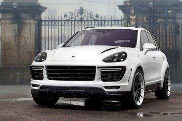 TOPCAR 2016 Porsche Cayenne Vantage WHITE