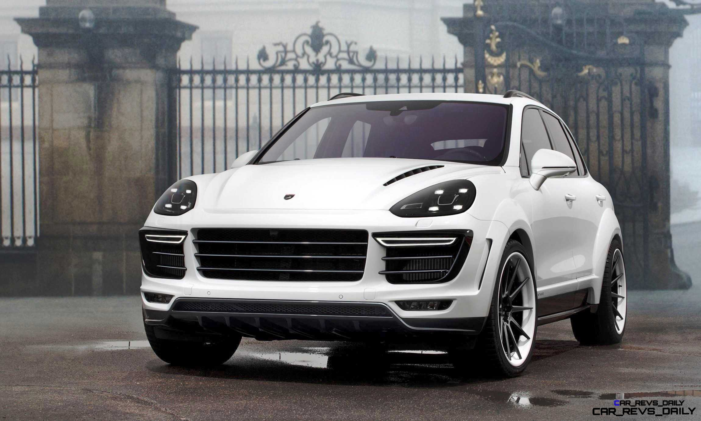 2016 porsche cayenne vantage white by topcar 3. Black Bedroom Furniture Sets. Home Design Ideas