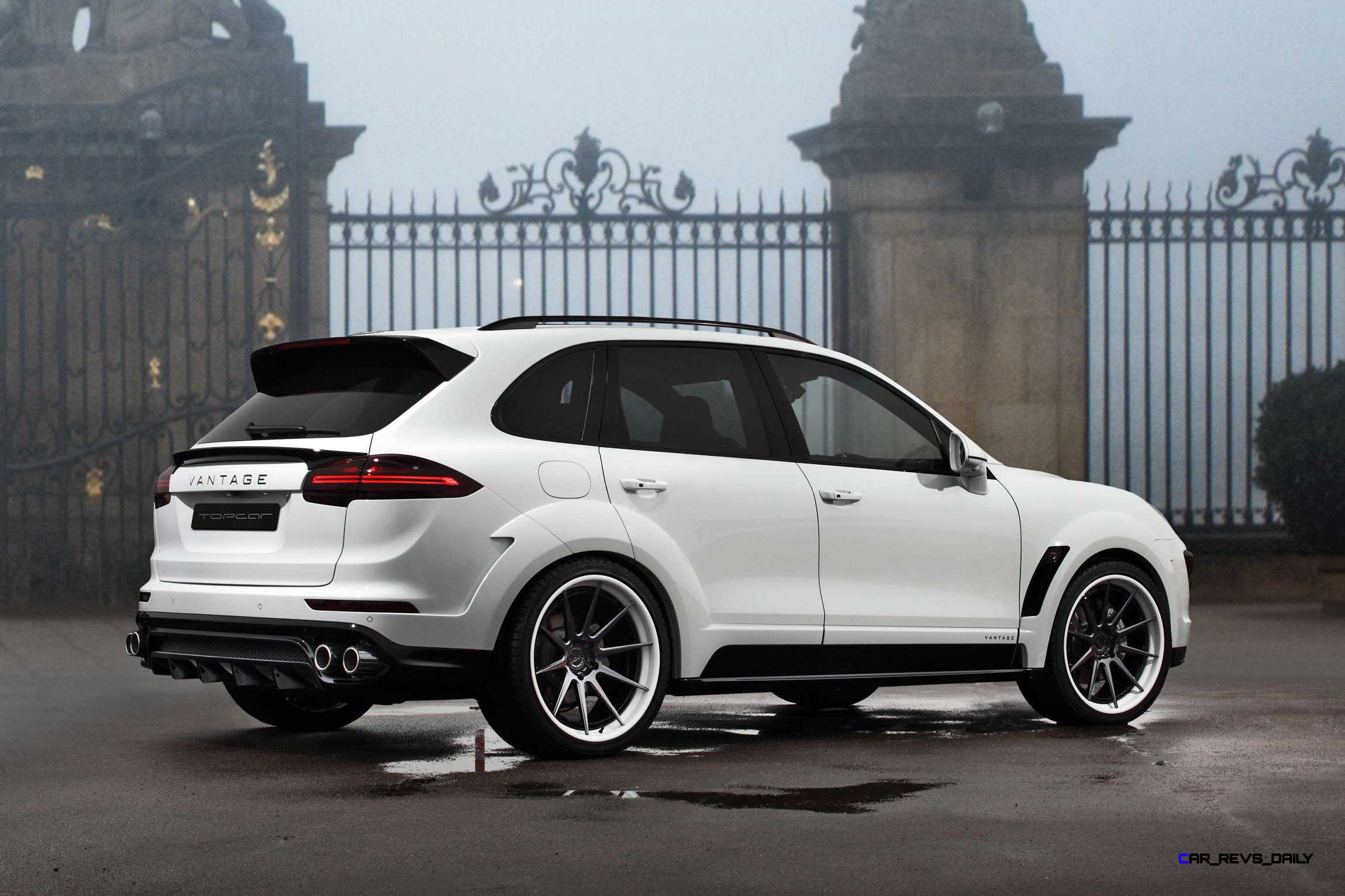 2016 porsche cayenne vantage white by topcar 4. Black Bedroom Furniture Sets. Home Design Ideas