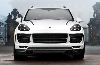 2016 Porsche Cayenne Vantage WHITE by TOPCAR 8