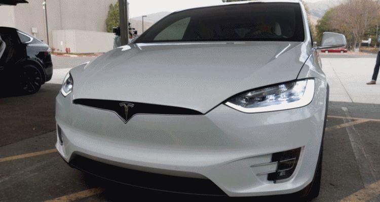 2016 Tesla Model X Production SuperSUV 4