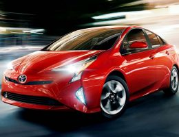 2016 Toyota PRIUS Intros Future-Tech Design, Sharper Handling and 10% Efficiency Bump