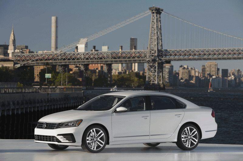 2016 Volkswagen Passat USA