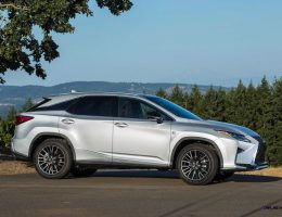 Update1 – 2016 Lexus RX350 and RX450h Are All-New Inside and Out