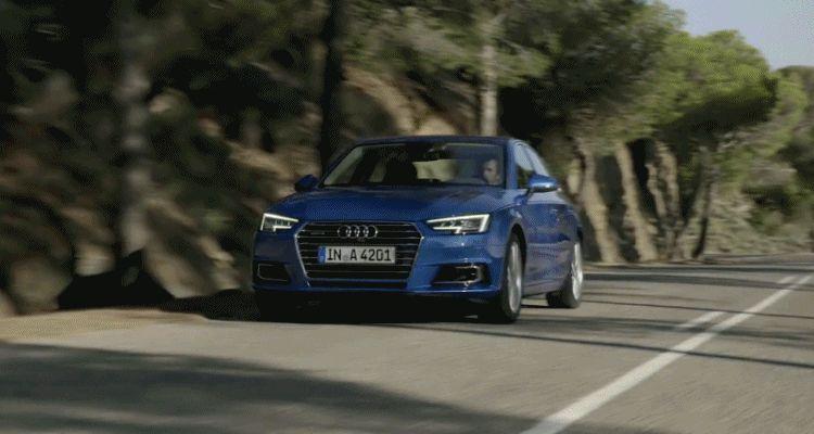 2017 Audi A4 Dynamic animation