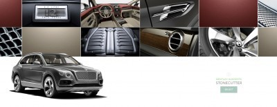 2017 Bentayga BENTLEY SUGGESTS COLORS 10