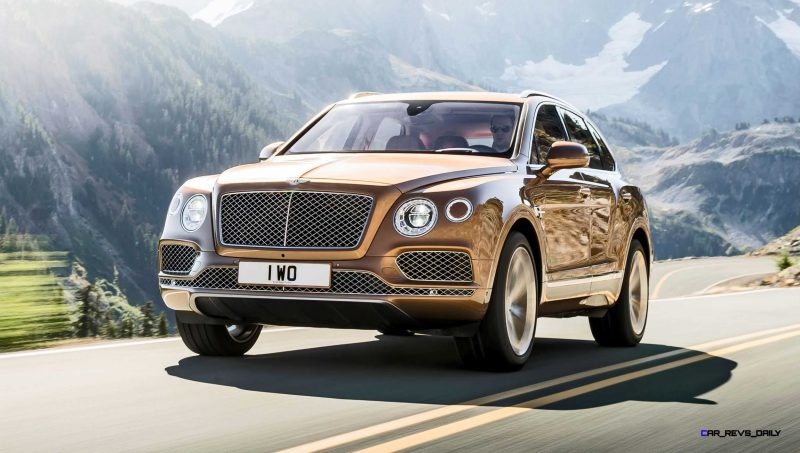 2017 Bentley BENTAYGA 11