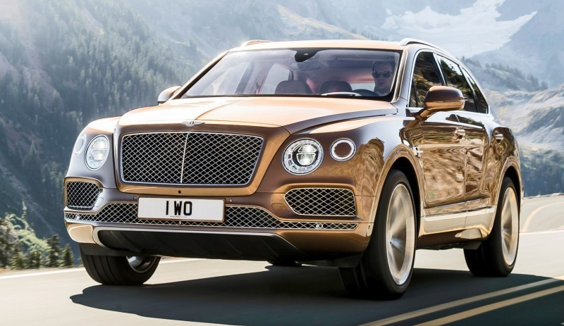 2017 Bentley BENTAYGA 12