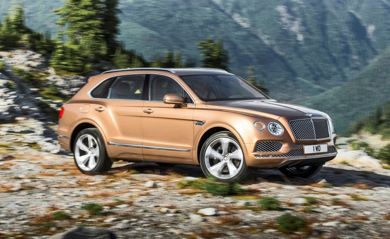 2017 Bentley BENTAYGA 17