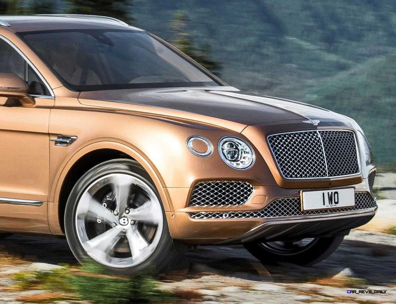 2017 Bentley BENTAYGA 18