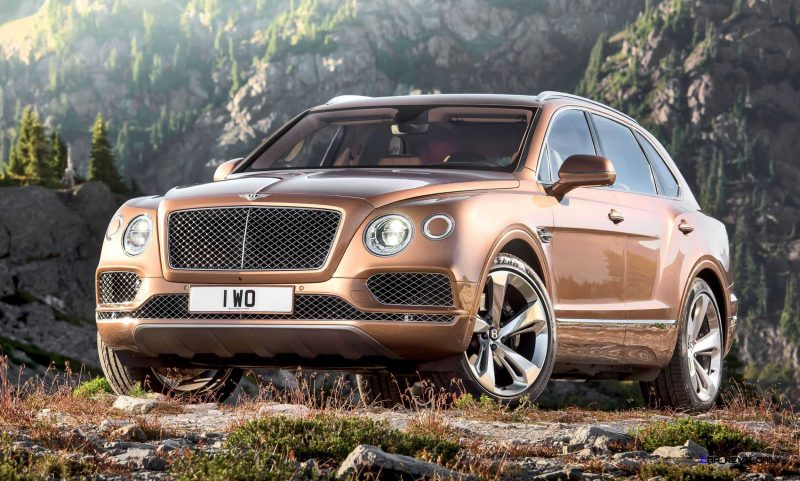 2017 Bentley BENTAYGA 6