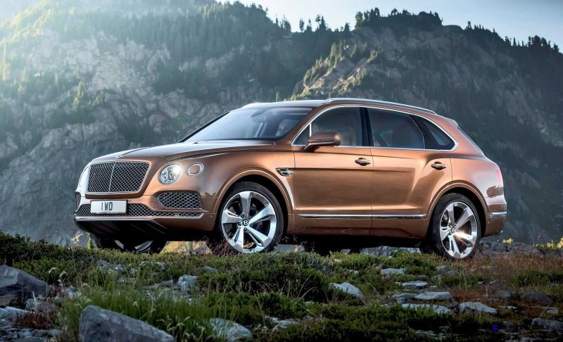 2017 Bentley BENTAYGA 8