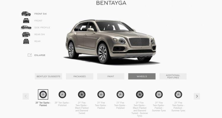 2017 Bentley BENTAYGA Wheels