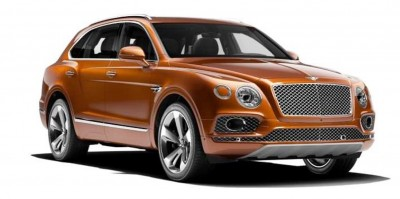 2017 Bentley Bentayga BENTLEY SUGGESTS COLORS 10