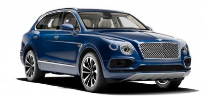 2017 Bentley Bentayga BENTLEY SUGGESTS COLORS 1