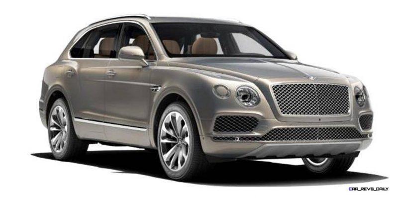 2017 Bentley Bentayga BENTLEY SUGGESTS COLORS 3