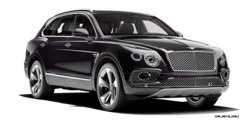 2017 Bentley Bentayga BENTLEY SUGGESTS COLORS 4