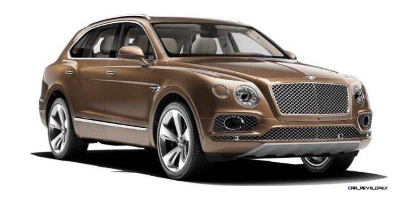 2017 Bentley Bentayga BENTLEY SUGGESTS COLORS 5