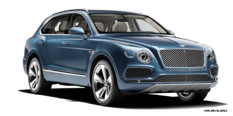 2017 Bentley Bentayga BENTLEY SUGGESTS COLORS 8
