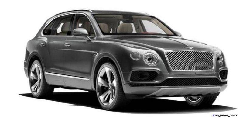 2017 Bentley Bentayga BENTLEY SUGGESTS COLORS 9