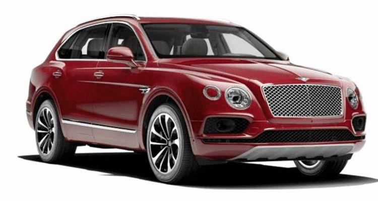 2017 Bentley Bentayga BENTLEY SUGGESTS COLORS