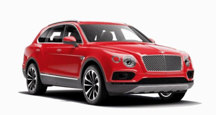 2017 Bentley Bentayga Colors animation gif