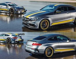 2017 Mercedes-AMG C63 Coupé Edition 1 + 2016 DTM Racecar Preview