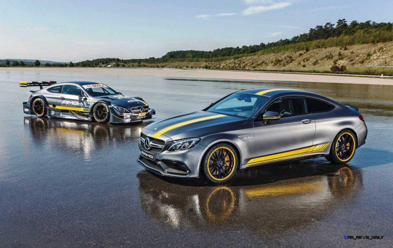 2017 Mercedes-AMG C63 Coupé Edition 1 + 2016 DTM Racecar 2