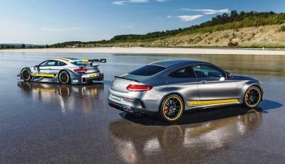 2017 Mercedes-AMG C63 Coupé Edition 1 + 2016 DTM Racecar 3