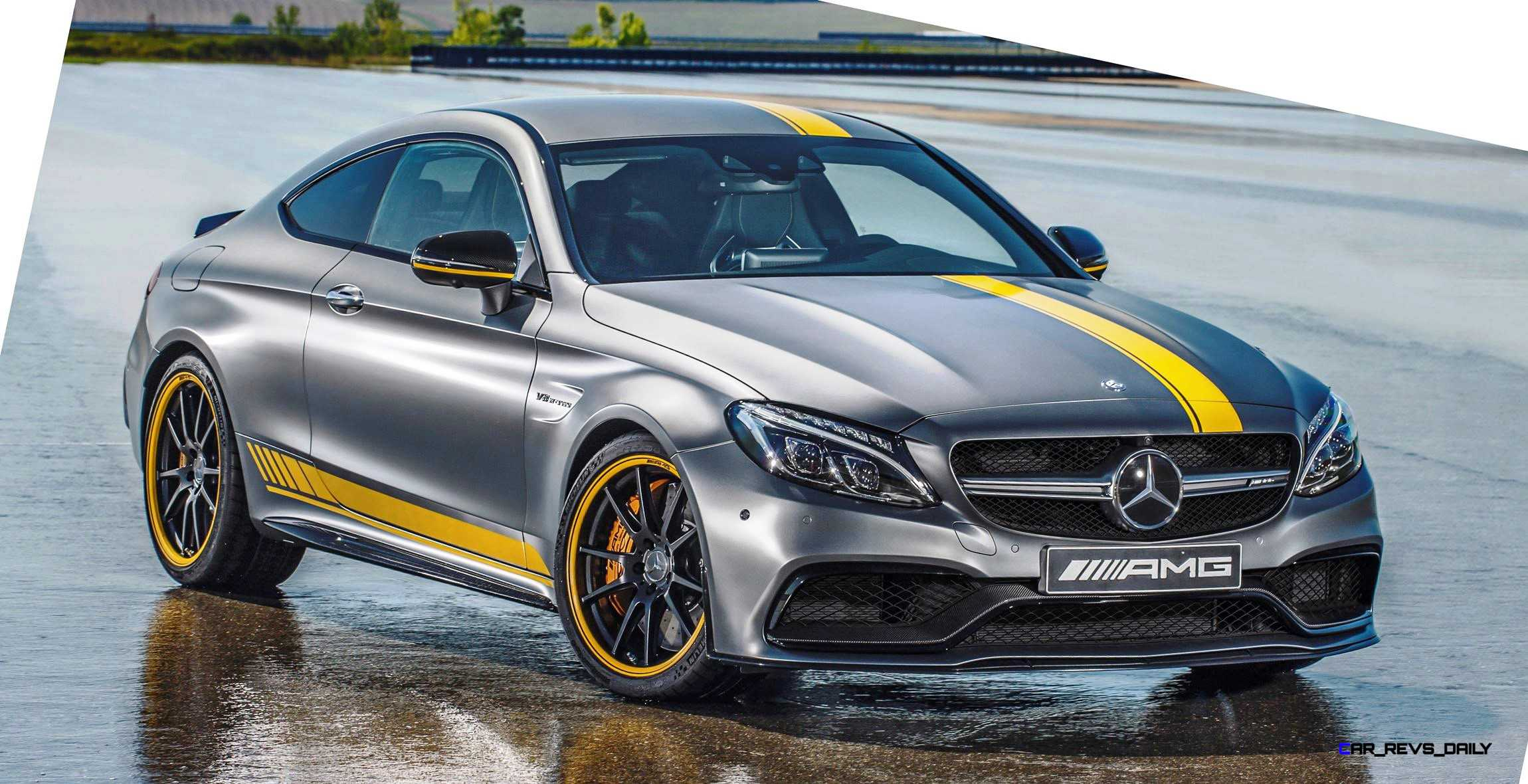 Mercedes amg c 63 s coupe edition 1 2016 wallpapers and hd images - Special Model Mercedes Amg C 63 Coup Edition 1 And The Mercedes Amg C 63 Dtm Racing Coup