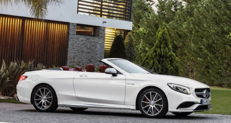 2017 Mercedes-AMG S63 4Matic Cabriolet 432