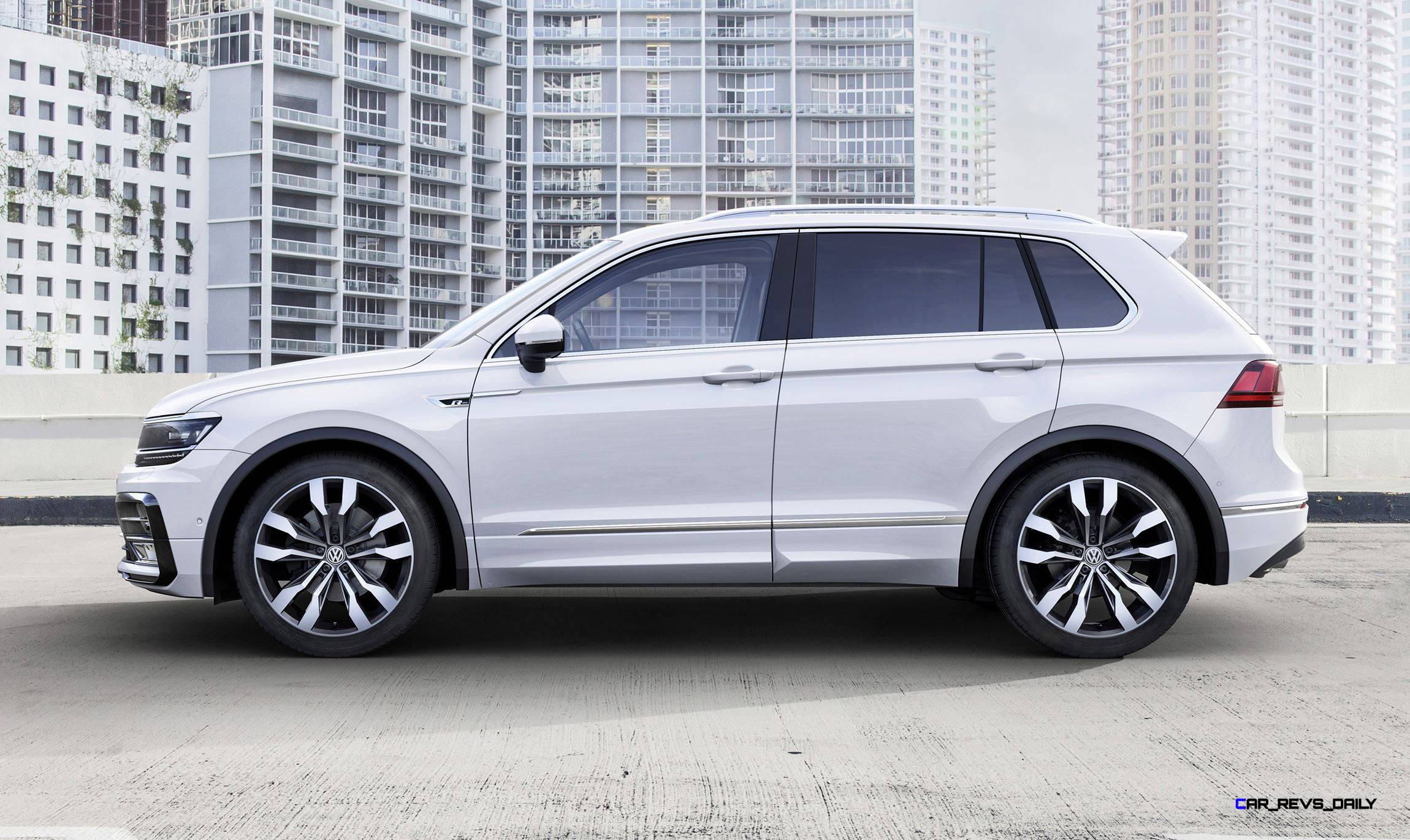 2017 Volkswagen TIGUAN Is Truly All New in R-Line or Standard Style ...
