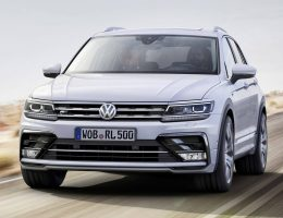 2017 Volkswagen TIGUAN Is Truly All New in R-Line or Standard Style + Concept GTE PHEV