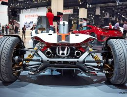 Best of Frankfurt 2015 – Honda Project 2&4 Concept – Floating Seats Promise Surreal Track Pleasure
