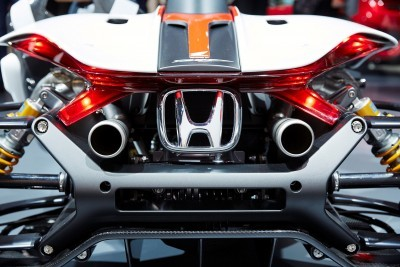 HONDA PROJECT 2&4 POWERED BY RC213V AT FRANKFURT MOTOR SHOW 2015