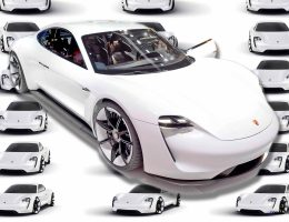 2015 Porsche Mission E – See Under Its Pajun-Previewing Panels Via 88 New Images and Animations