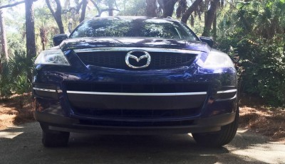 BEFORE - Mazda CX-9 DIY CF Nose Wrap 2
