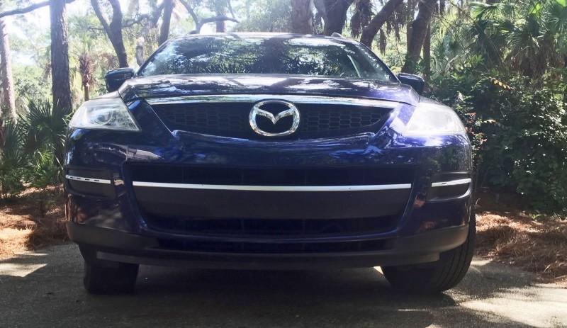 BEFORE - Mazda CX-9 DIY CF Nose Wrap 2