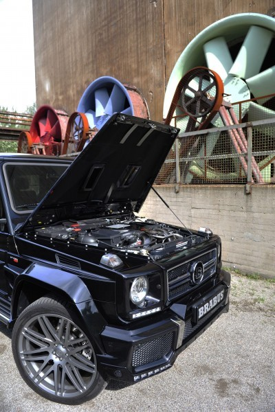 BRABUS 850 6.0 Biturbo WIDESTAR based on the Mercedes G63 10
