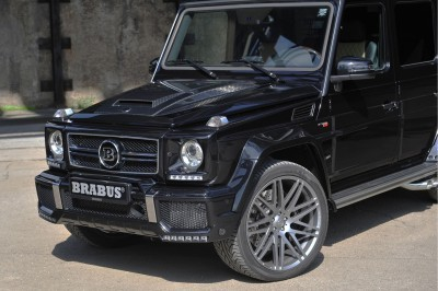 BRABUS 850 6.0 Biturbo WIDESTAR based on the Mercedes G63 6