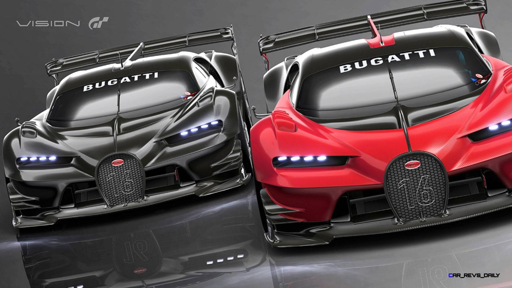 2015 bugatti vision gran turismo colors. Black Bedroom Furniture Sets. Home Design Ideas