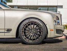 2015 Bentley Mulsanne Looking Light and Fresh on ADV1 Forged Alloys